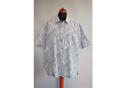 Batik overhemd korte mouw 2903-03