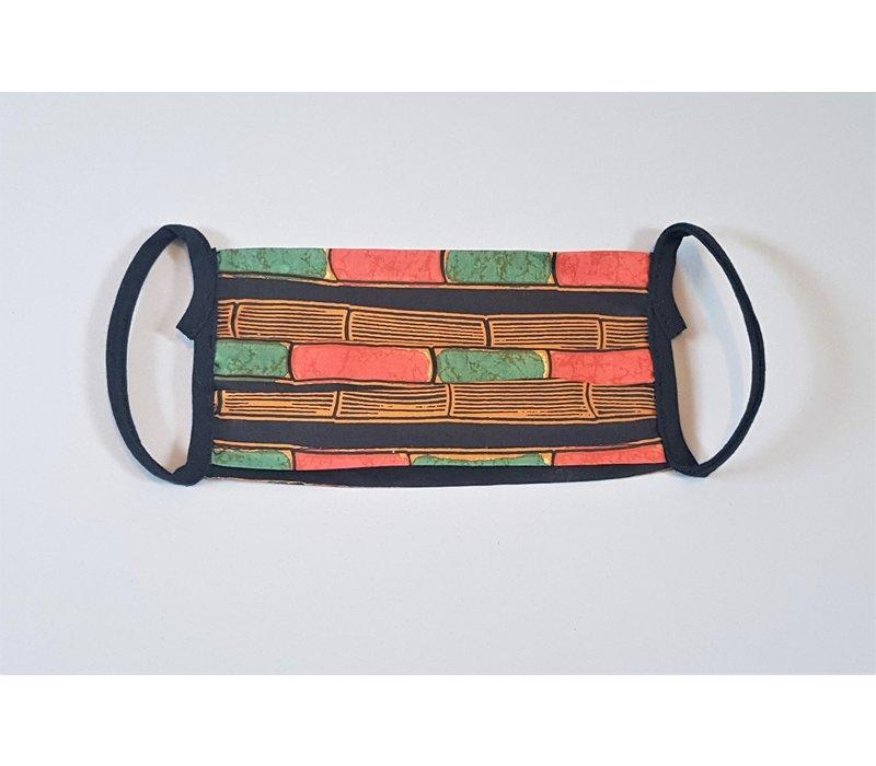 Batik mondmasker 0806-09