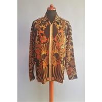 Batik overhemd lange mouw 0908-01