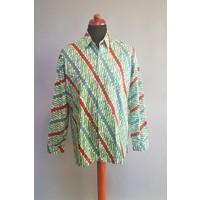 Batik overhemd lange mouw 0908-04