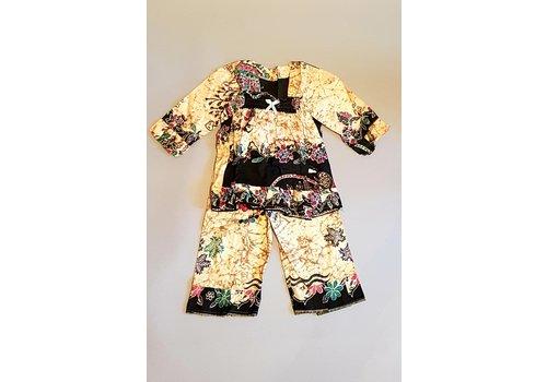 Setje kinder batik kleding