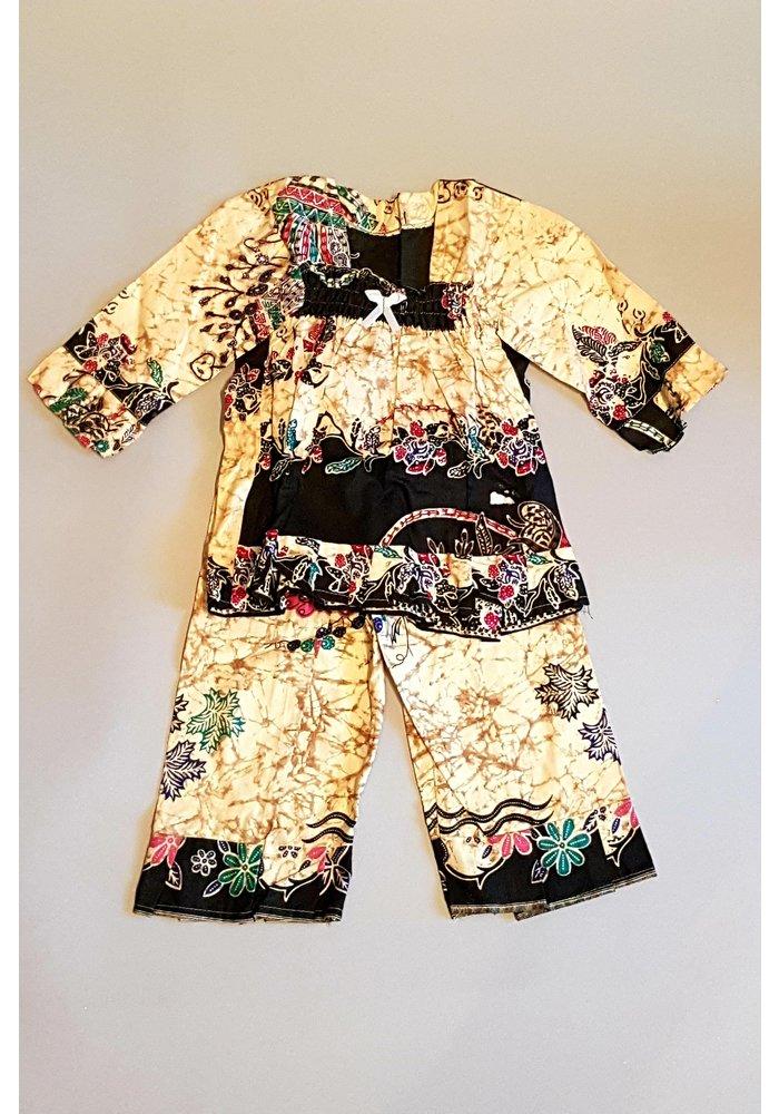 Setje kinder batik