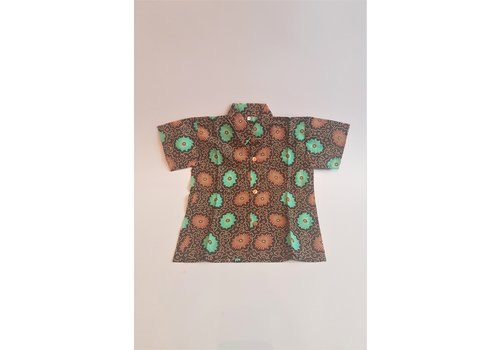 Kinder batik overhemd korte mouw 1311-01
