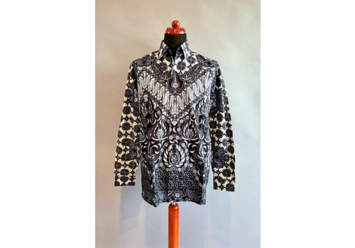 Batik overhemd lange mouw 0204-04