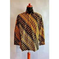 Batik overhemd lange mouw 0204-06