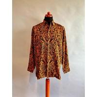 Batik overhemd lange mouw 0204-08