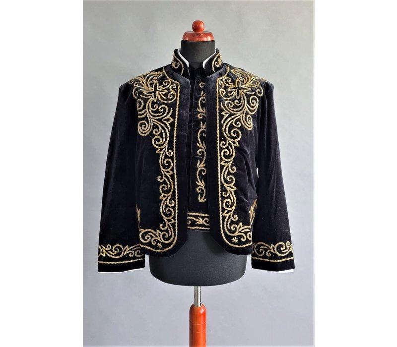 Kostuum 2-delig in zwarte kleur