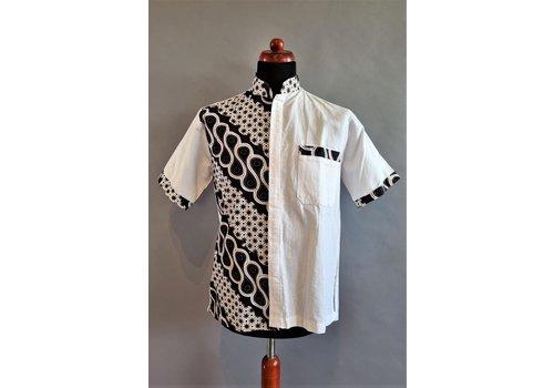 Batik shirt combinatie korte mouw