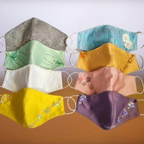 Batik Mondkapjes, nu ook in pastel kleuren!
