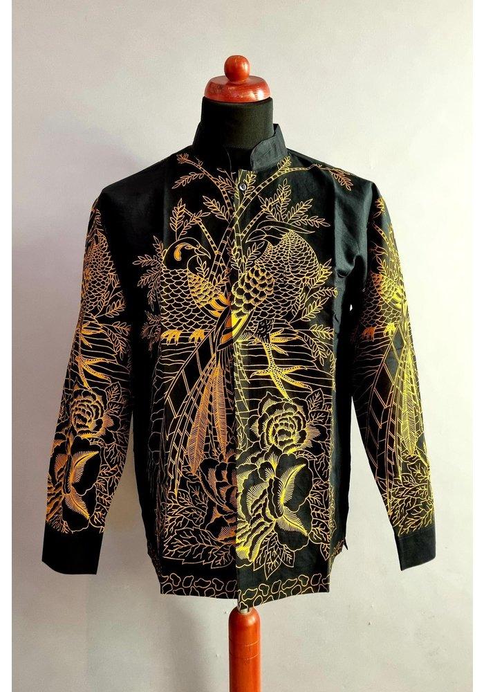 Batik overhemd lange mouw 1006-05