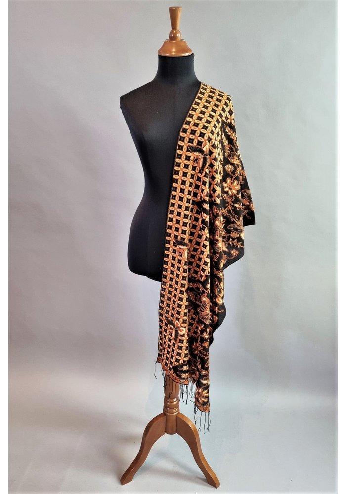 Batik sjaal (selendang) 2706-01