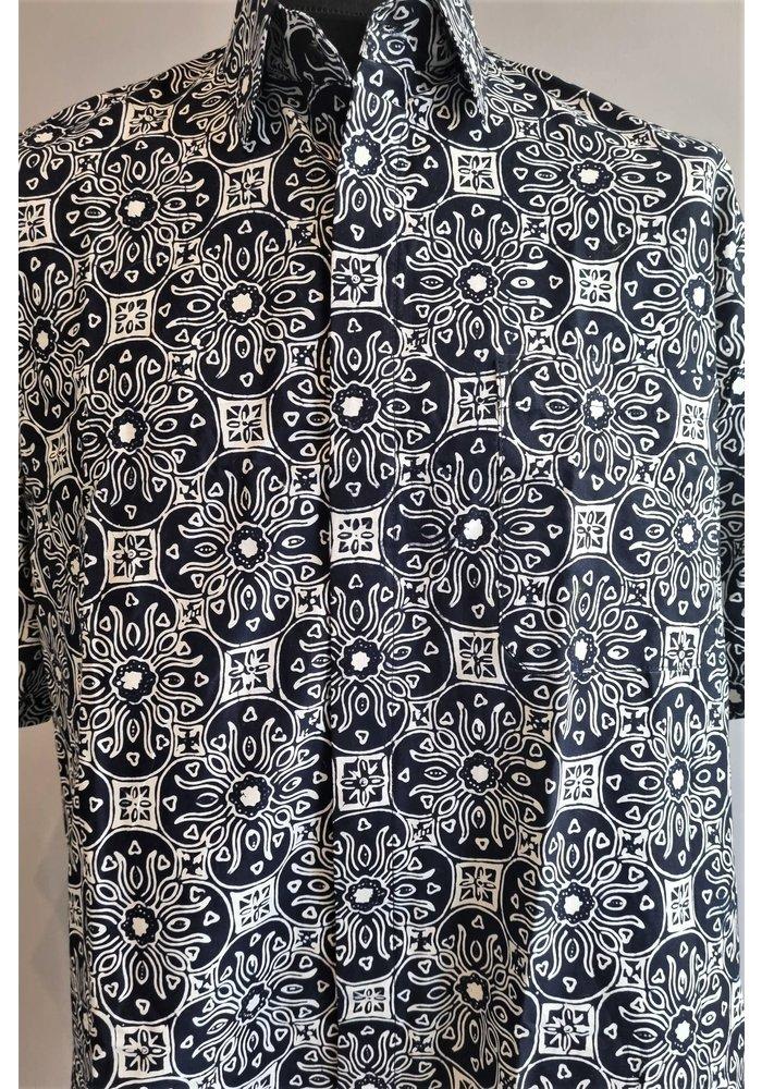 Batik overhemd lange mouw 2409-02