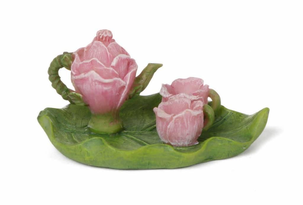 Woodland Knoll Woodland Knoll - Resin Flower Tea Set