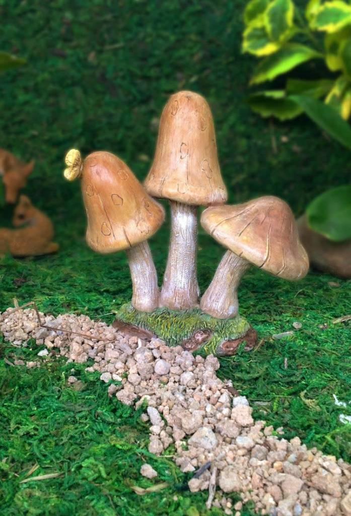 Woodland Knoll Woodland Knoll - Resin Mushrooms