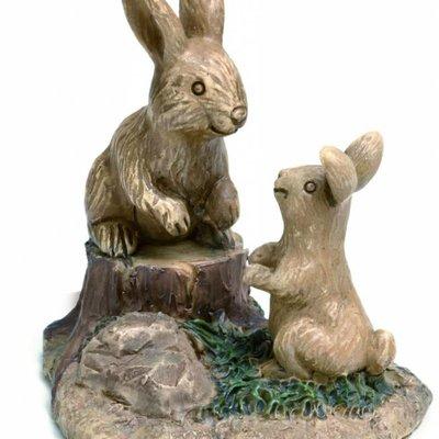 Woodland Knoll Woodland Knoll - Resin Bunny Buddies