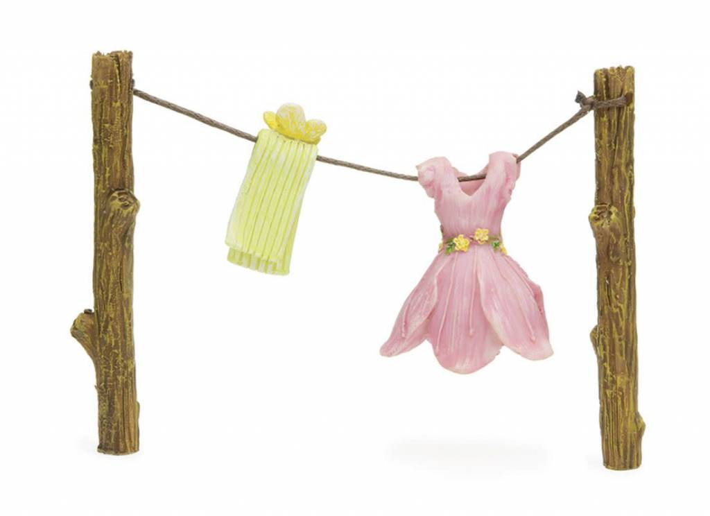 Woodland Knoll Woodland Knoll - Resin Out to Dry (Fairy Clothes Line)