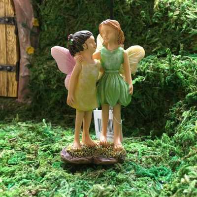 Woodland Knoll Woodland Knoll - Resin Standing Fairy Sisters