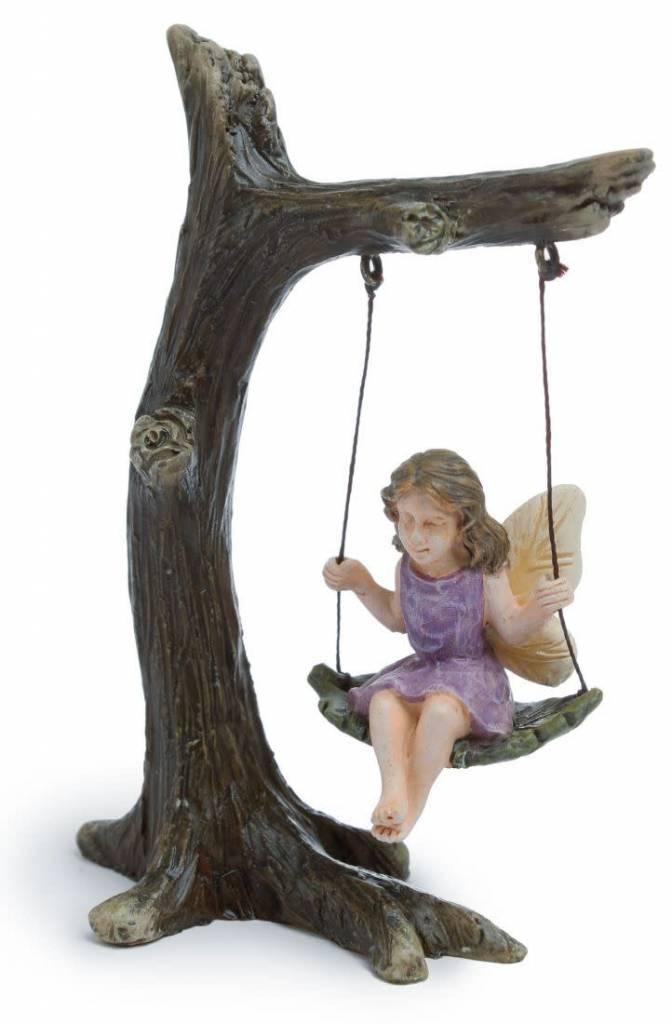 Woodland Knoll Woodland Knoll - Resin Tree Swing w/Fairy