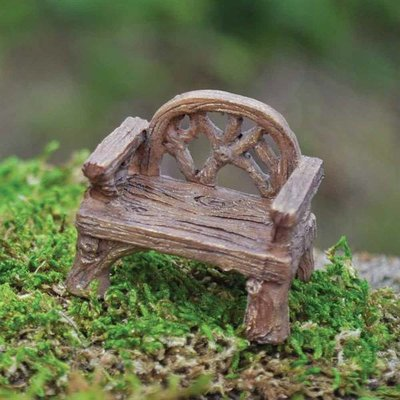 Fiddlehead Fiddlehead - Miniature Fairy Woodland Rustic Chair