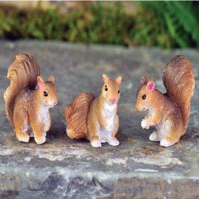 Fiddlehead Fiddlehead -  Set of 3 Squirrels