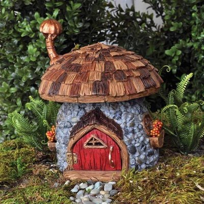 Fiddlehead Fiddlehead  - Shingletown Mushroom Gnome Home