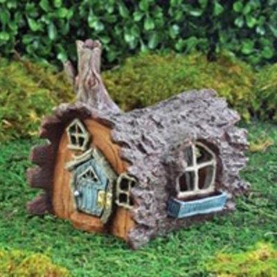 Fiddlehead Fiddlehead - Fairy Village Log House
