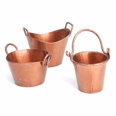 Fiddlehead Fiddlehead - Mini Copper Bucket Set