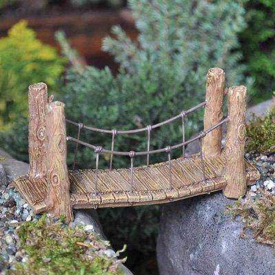 Fiddlehead Fiddlehead - Wooden Style Suspension Bridge