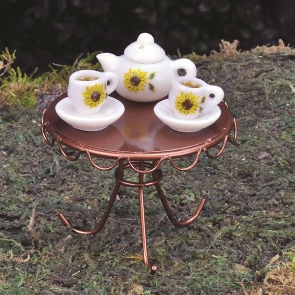Fiddlehead Fiddlehead - Porcelain Tea Set