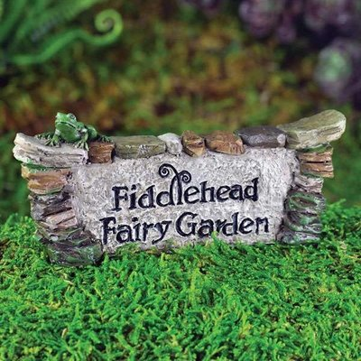 Fiddlehead Fiddlehead - Fairy Garden Sign