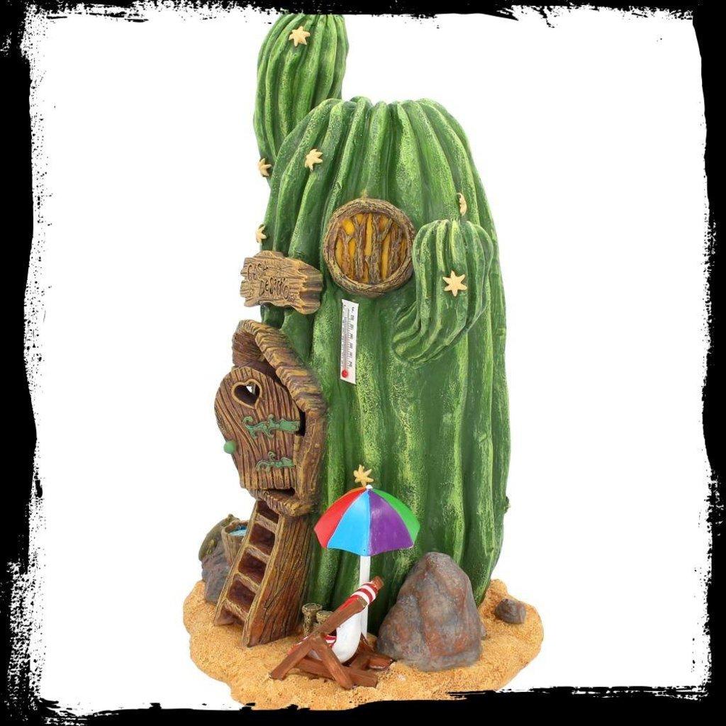 Nemesis Now Cactus Fairy House