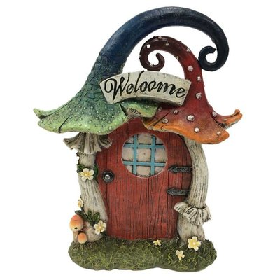Nemesis Now Nemesis - Mushroom Welcome Door