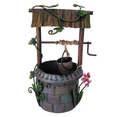 Fairy Kingdom Secret Garden Wishing Well Flowers