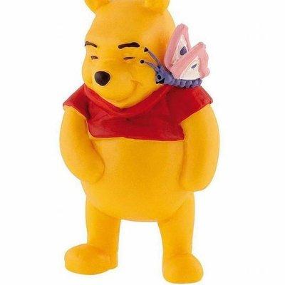 Bullyland Bullyland - Winnie the Pooh w/Butterfly - Winnie the Pooh
