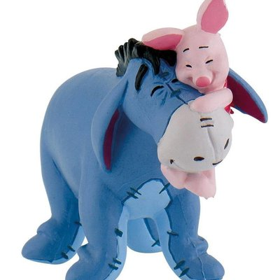 Bullyland Bullyland - Eeyore with Piglet - Winnie the Pooh