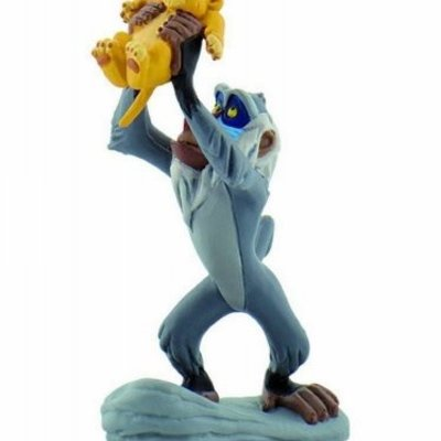 Bullyland Bullyland - Rafiki with Simba - The Lion King