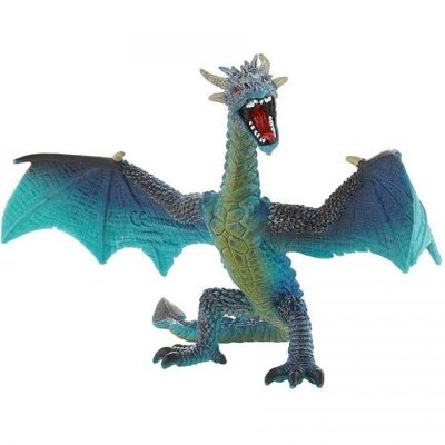 Bullyland Bullyland - Flying Turquoise Dragon