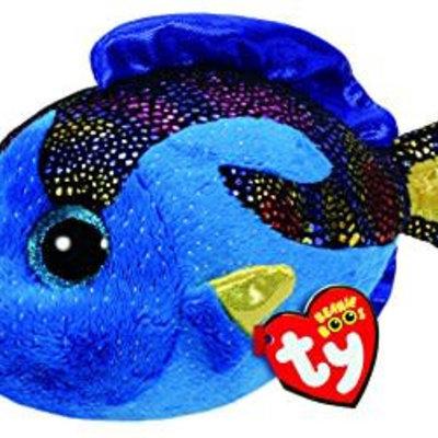Ty Beanie Boo - Aqua the Blue Fish