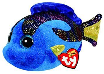 db3e1bef15c Beanie Boo - Aqua Blue Fish - Celebrations and Toys