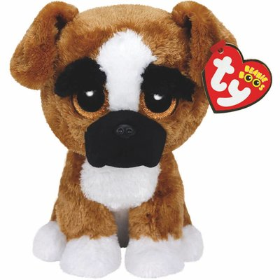 Ty Beanie Boo - Brutus the Boxer Dog