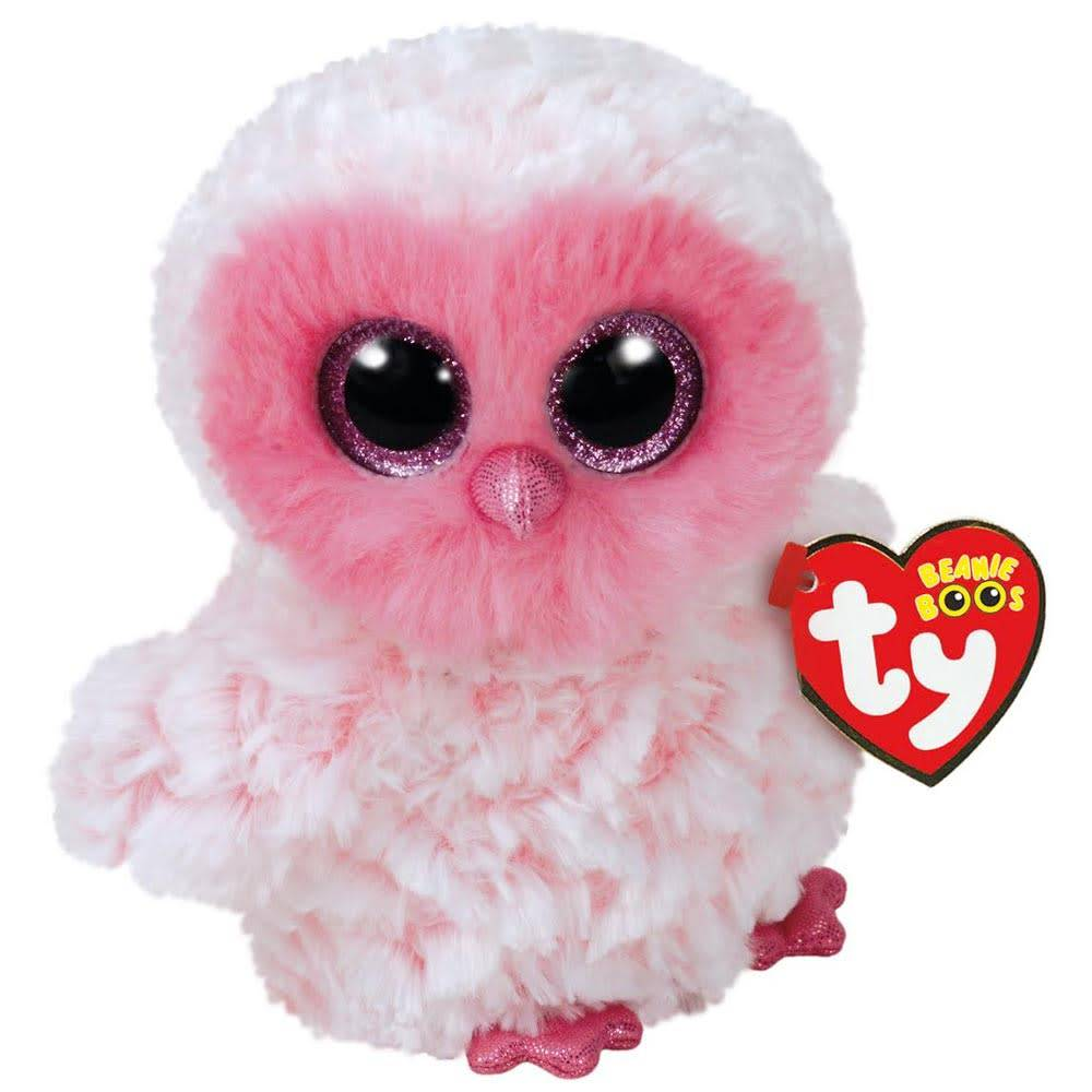 Beanie Boo - Twiggy the Pink Owl - Celebrations and Toys 84871a17860