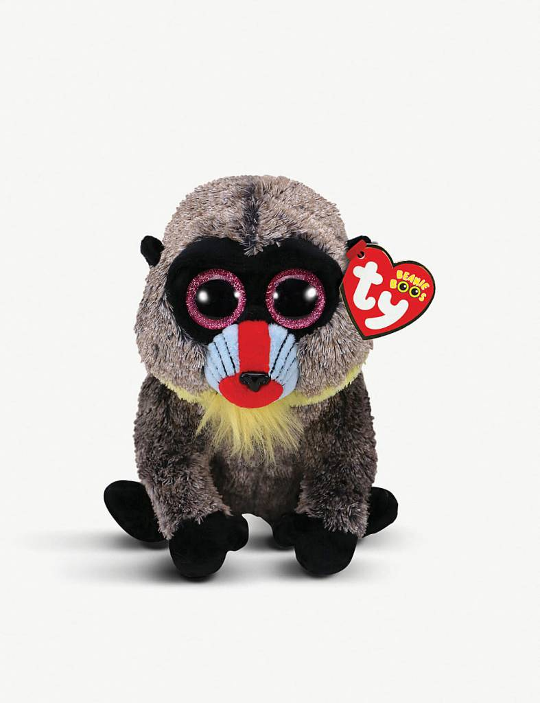 Beanie Boo - Wasabi the Baboon - Celebrations and Toys 6ef91b5e207d