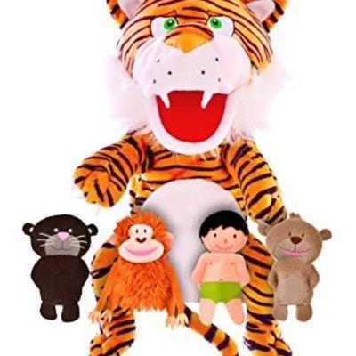 Fiesta Crafts Jungle Book - Hand and Finger Puppet Set