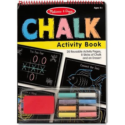Melissa & Doug Chalk Activity - Book