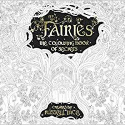 Fairy Goodies Fairies - Colouring Book of Secrets