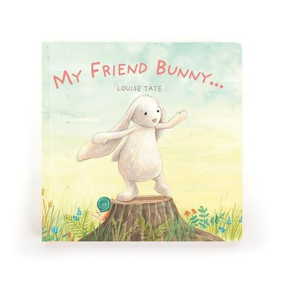 Jellycat - Story Book Jellycat - My Friend Bunny... - Book