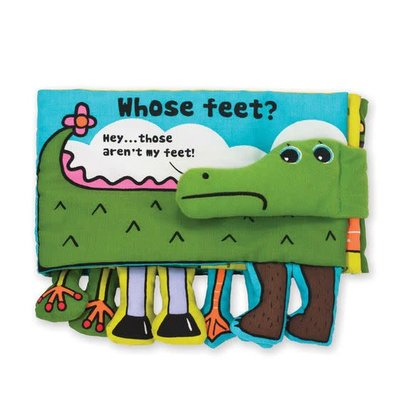 K's Kids Whose Feet - Soft Book