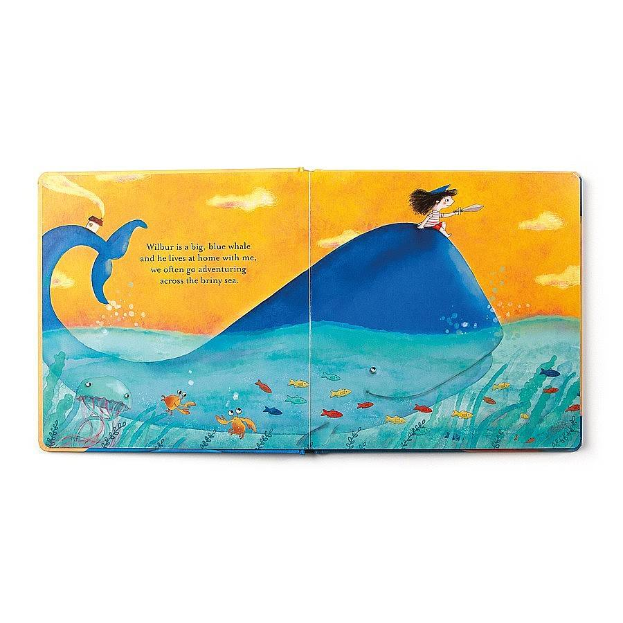 Jellycat Jellycat - Wilbur the Whale and Me - Book