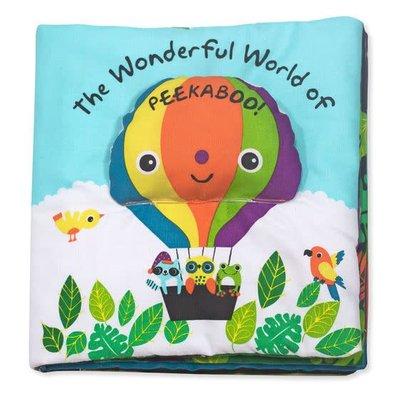 Melissa & Doug Wonderful World Of Peekaboo! - Soft Book