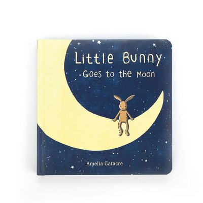 Jellycat Jellycat - Little Bunny Goes to the Moon - Book